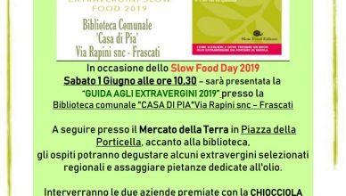 Locandina Presentazione Guida Extravergini Slow Food