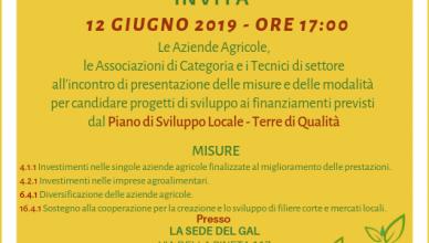 Invito 12 Giugno 2019 GAL