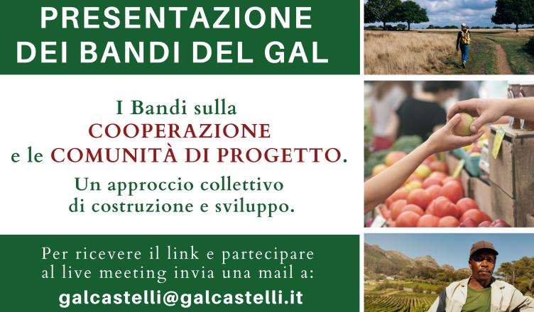 Invito 9 giugno 2020 Live Meeting GAL Catelli