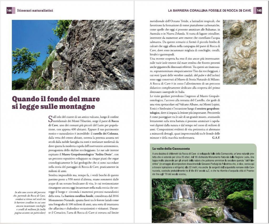 Uno degli itinerari naturalistici proposti nel territorio del GAL Castelli Romani e Monti Prenestini